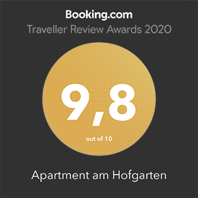 Booking.com Guest Review Award: 9,8 out of 10